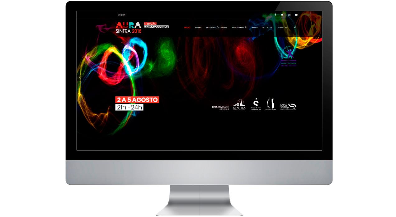 Aura festival Diseño Web